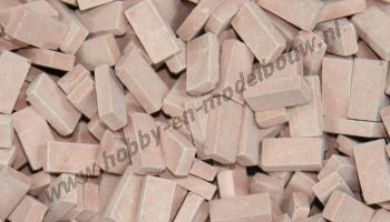 Middel terracotta steen 1:32/35
