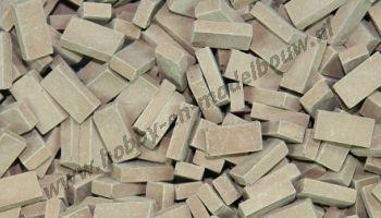 Donker terracotta steen 1:32/35