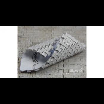 Flexyway straatsegmenten grijs, 8 segmenten, schaal 1:32-1:35