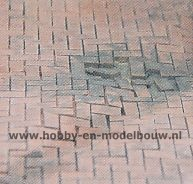 Flexyway 8 x segment H-Stenen Rood, schaal 1:32-1:35