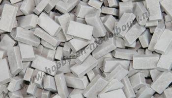 Donkergrijze steen 1:72, 2000 stuks
