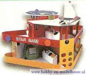 Ruimtestation om zelf te bouwen