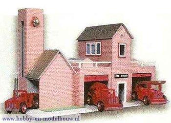 Auto van de brandweercommandant