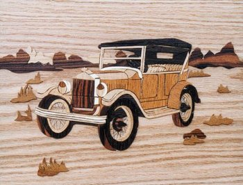 Model T-Ford, afm.: 23*30 cm