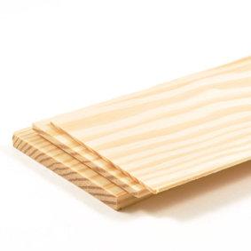 Houten plankjes grenenhout, afm.: 76 x 457 mm