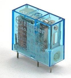 Monostabiel printrelais 12Vdc-10A
