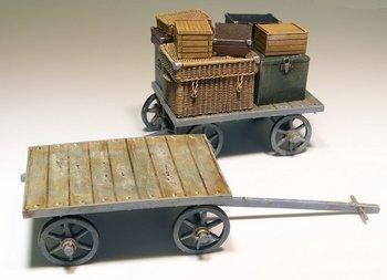 Lorries en koffers