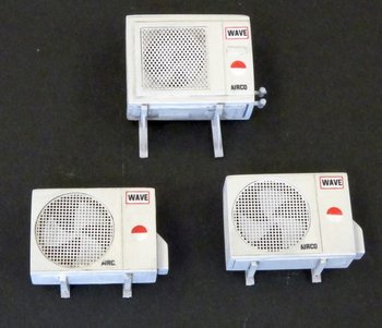 set van 3 airconditioners