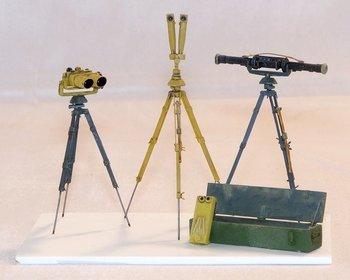 Landmeters apparatuur