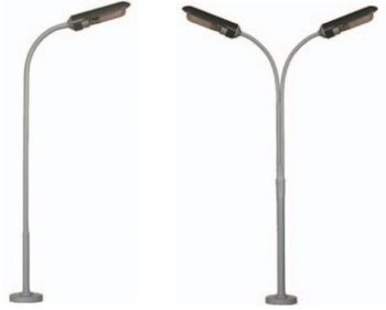 Lichtmast breed, 120 of 130 mm lang