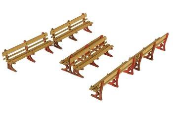 Set banken voor spoor HO