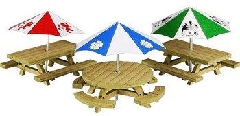 Set picknicktafels