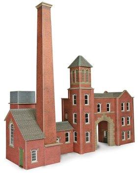 Ketelhuis en fabrieksingang