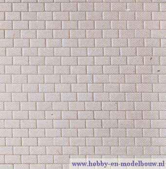 Plaat betonnen blokken
