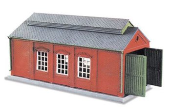 Locomotievenloods annex werkplaats