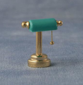 Bureaulamp met groen kapje (LED)
