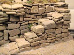 Real Dry Stone Walling, geel, 39 cm2, schaal 1op19