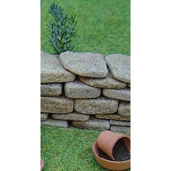 Real Dry Stone Walling, grijs, 154 cm2
