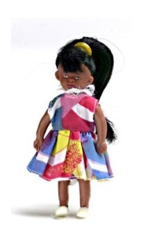 Donker meisje 76 mm