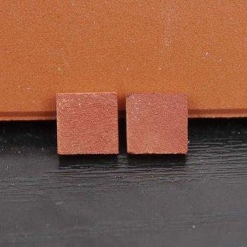 Victoriaanse tegels 8.5*8.5*2 mm, kleur: victorian red