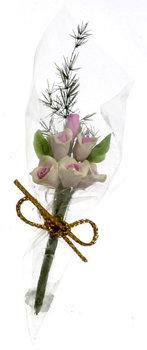 6 rozen in cadeauverpakking