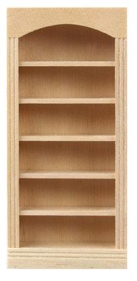 Houten boekenkast met 5 planken