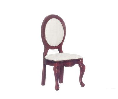 Mahonyhouten eetkamer stoel