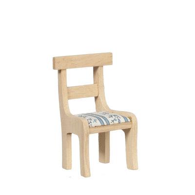 Eetkamer stoel van onbehandeld hout