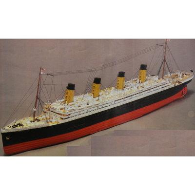 Mantua - RMS Titanic 1:-200 - Houten bouwmodel