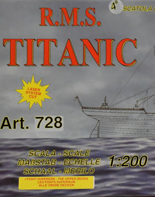 Mantua - RMS Titanic 1:-200 - Deelpakket 4