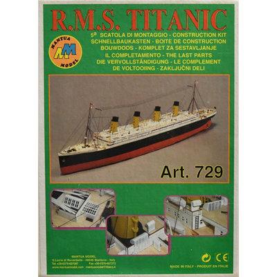 Mantua - RMS Titanic 1:-200 - Deelpakket 5