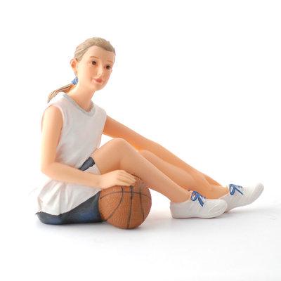 Anna, basketbal meisje