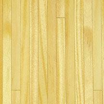 Grenen houten vloer, schaal 1:12