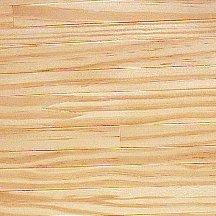 Grenen houten vloer, willekeurige planken
