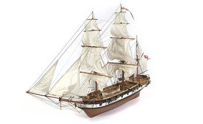 Bouwbeschrijving HMS Beagle