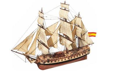 Verfpakket voor de Fragata Diana