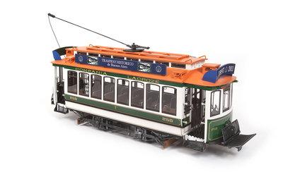 Tram Buenos Aires voor spoor G