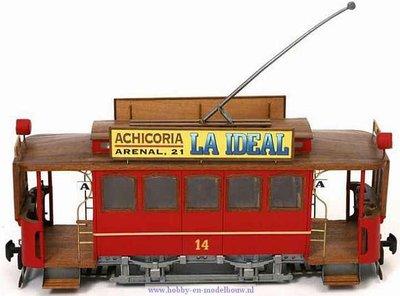Tram Cibeles Cangrejo voor spoor G
