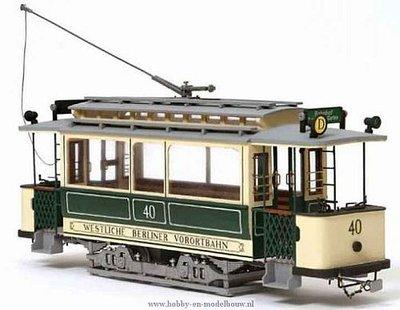 Tram Berlin voor spoor G