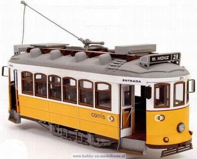 Tram Lisboa voor spoor G