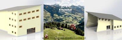 Bouwset voor berg- en dalstation voor BRAWA6342