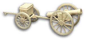 Kanon en voorwagen