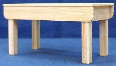 Werktafel met dun blad