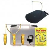 Hot Wire piepschuimsnijder set 4-delig