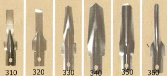 Nr. 350 U-guts 9.5 mm