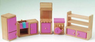 Keukenset met Barbie roze details