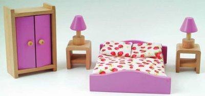 Slaapkamerset met Barbie roze details