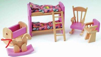 Kinderkamerset met Barbie roze details