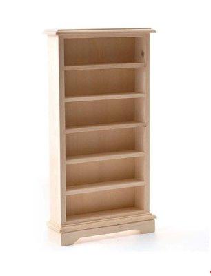 Boekenkast van 6 planken