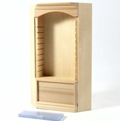 Luxe 1-delige legplankenkast
